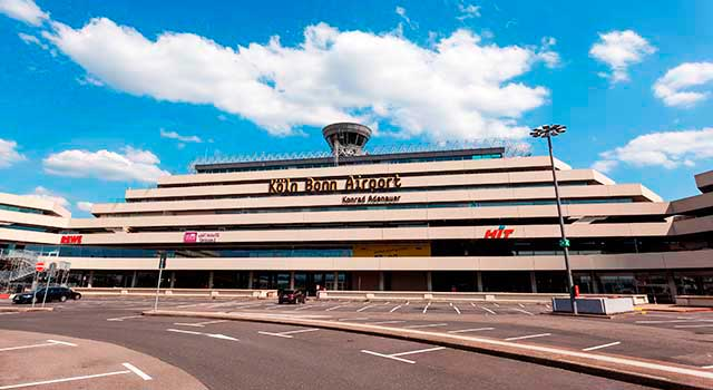 Cologne Airport (CGN) is the 4th busiest airport in Germany.